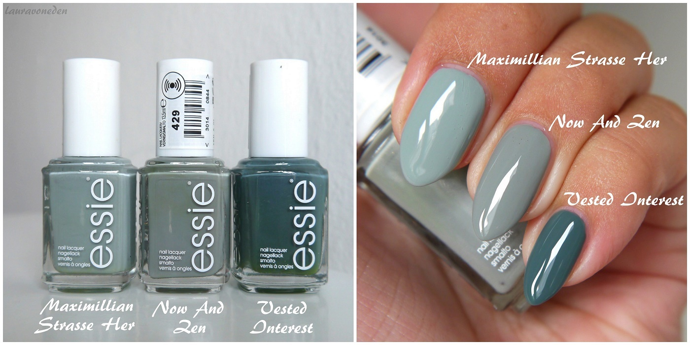 Essie Herbst 2016 - Now And Zen, Maximillian Strasse Her & Vested Interest