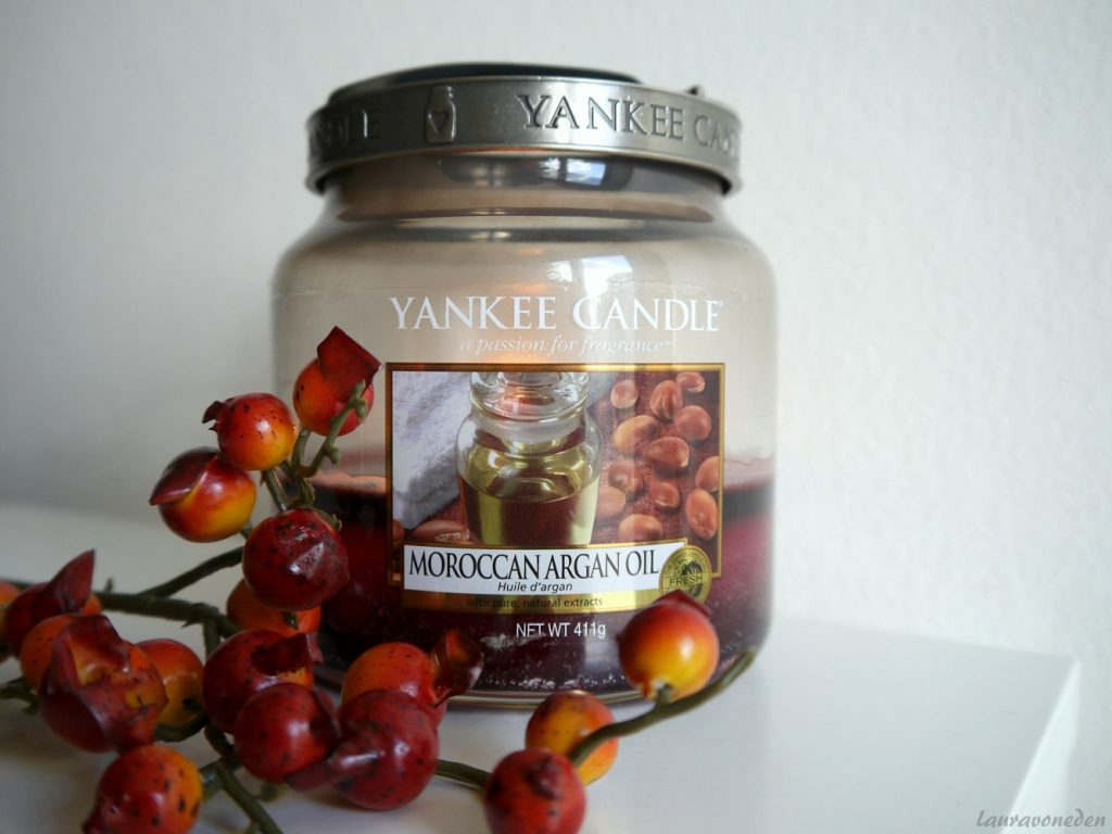 Yankee Candle Moroccan Argan Oil