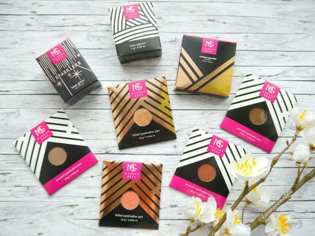 Makeup Geek Eyeshadow, Foiled eyeshadow, Contour Powder, Sparklers, Loose Pigment-jpg