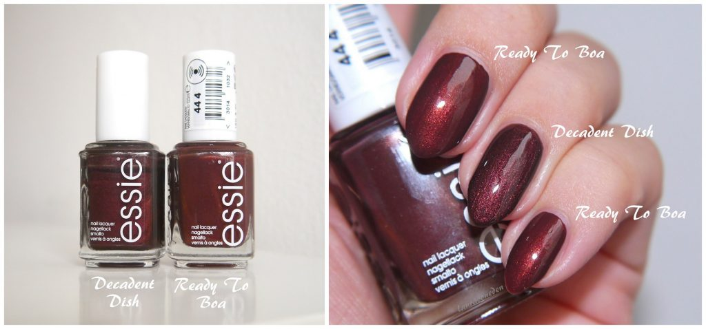 Essie Ready To Boa & Decadent Dish