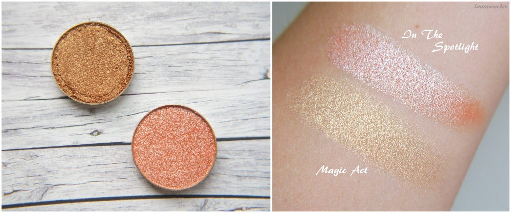 Makeup Geek Foiled Eyeshadow In The Spotlight, Magic Act