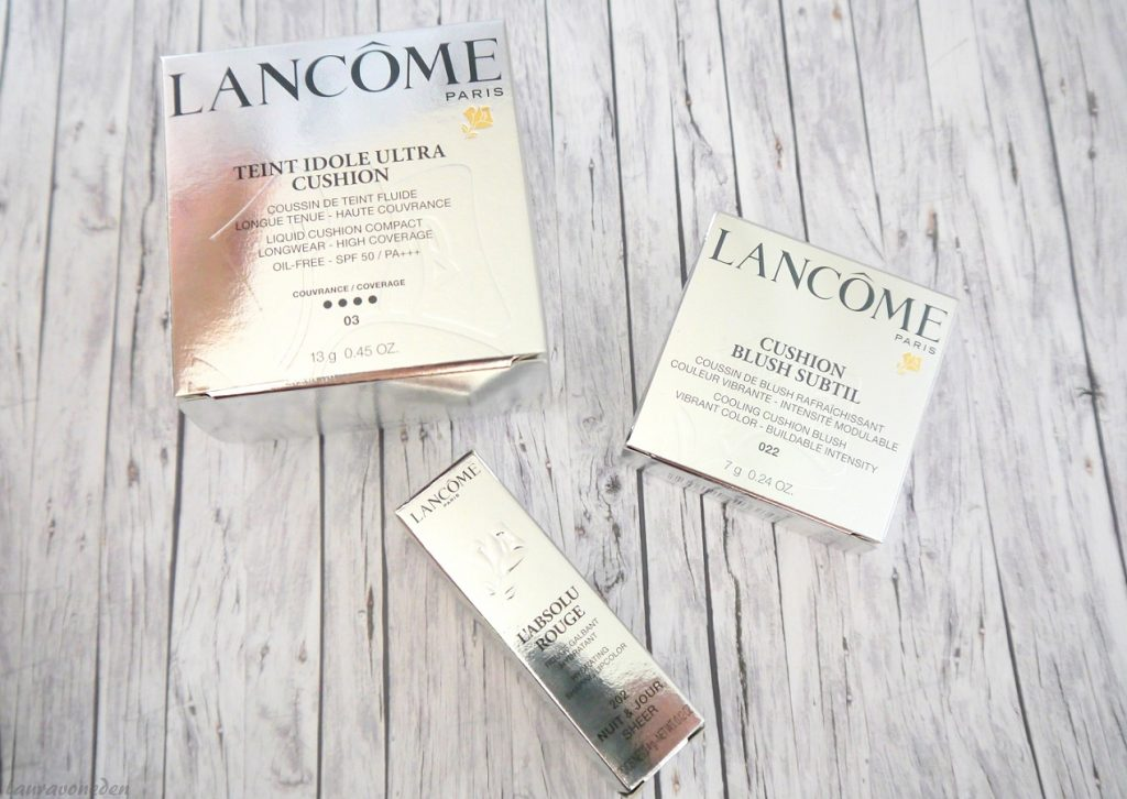 Lancôme Teint Idole Cushion Foundation & Blush, L'Absolu Rouge 202