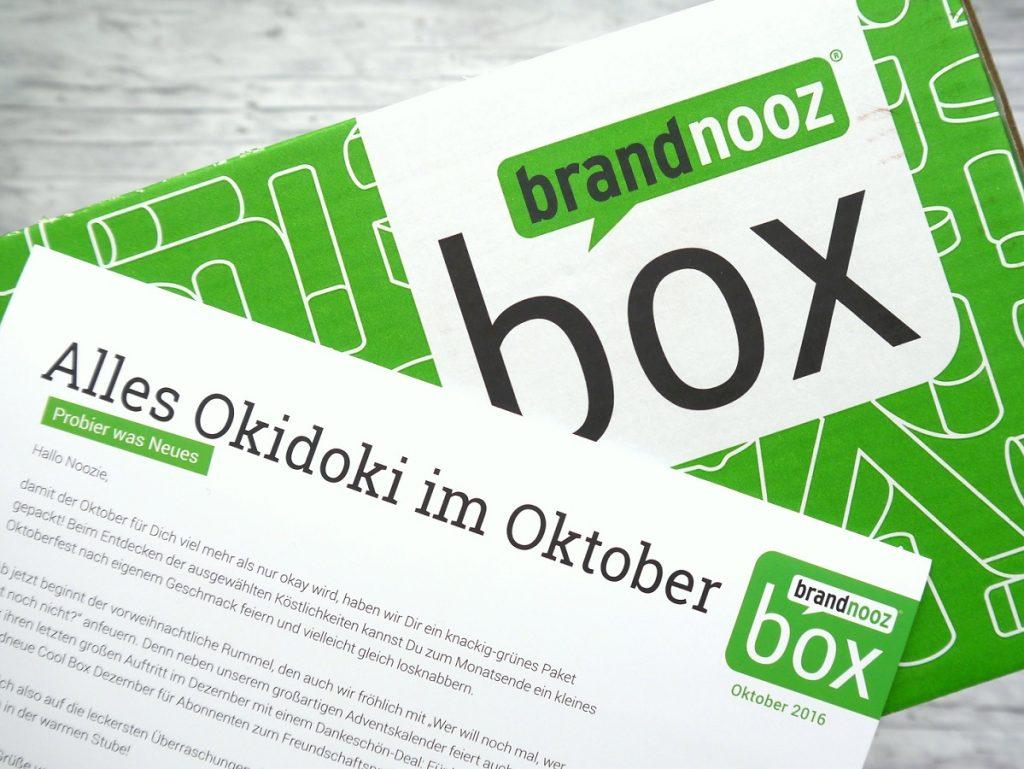 Brandnooz Box Oktober 2016