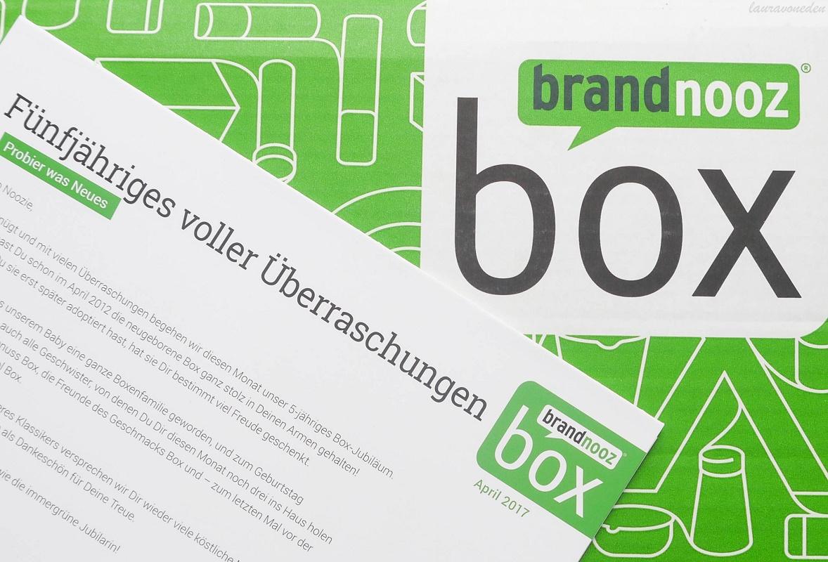 boxen brandnooz box april 2017 laura von eden. Black Bedroom Furniture Sets. Home Design Ideas